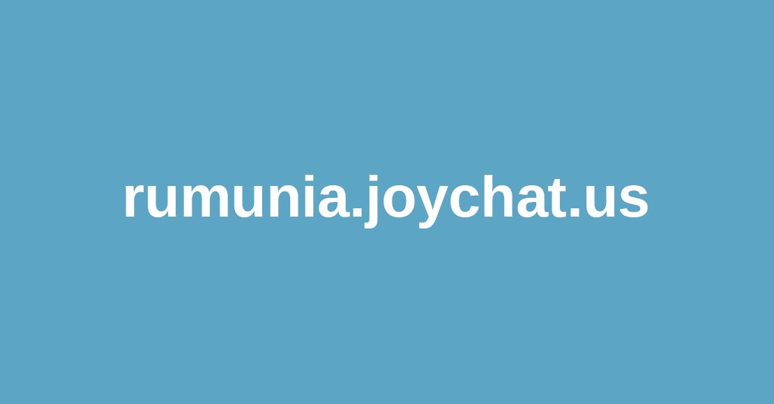 Rumunia.joychat отзывы